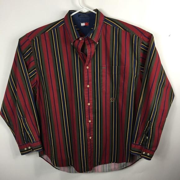 e6360973 Tommy Hilfiger Shirts | Mens Button Down Shirt Xl | Poshmark
